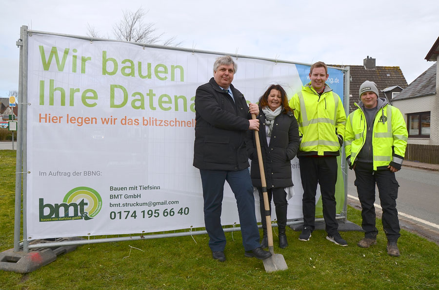 Baubeginn in Oldenswort