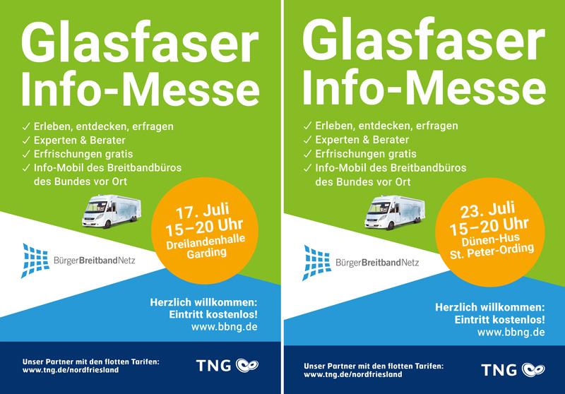 Wir laden Sie ein zur Glasfaser Info-Messe in Garding und SPO