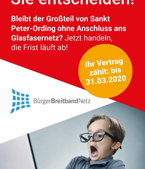 Die Vermarktung in St. Peter-Ording endet endgültig am 31. März 2020.